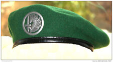 FRENCH FOREIGN LEGION PARACHUTE PARA 2ND REP BERET SIZE 60 7 1/2