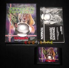 DRAGON'S REVENGE Mega Drive Megadrive Md Versione PAL Europea »»»»» COMPLETO