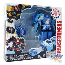 Transformers Robots in Disguise Mini-Con Blizzard Strike Drift & Jetstorm