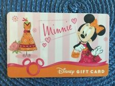 Minnie Mouse Disney gift card collectible only-  no $ value or points on it