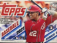 2021 Topps Series 1 Baseball Retail Blaster Box Patch( FACTORY Sealed )