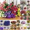 Bridal Wedding Silk Flowers Party Bouquet Posy Hydrangea Floral Home Decor