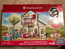 Mega Bloks American Girl Grace's 2-in-1 Buildable Home (749 Pieces) Age 8+ NIB