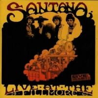 SANTANA - LIVE AT THE FILLMORE-1968 2 CD 9 TRACKS CLASSIC PSYCHEDELIC ROCK NEW!