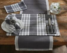 Placemat - Dylan in Slate Gray by Park Designs - Kitchen Dining
