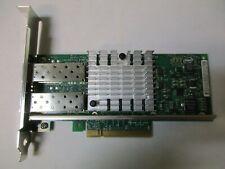 Dell Intel X520-DA2 PCI-E Dual Port 10GB Network Interface Card U810N