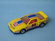 Matchbox Pontiac Firebird STP Son Of A Gun Racing Toy Model Car UB 75mm Yellow