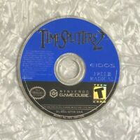 TimeSplitters 2 Nintendo Gamecube TESTED *Disc Only* 2002 FAST SHIP! Eidos
