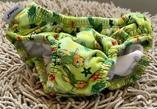 Finis Baby Toddles Swim Diaper Green with Turtles Size 3T