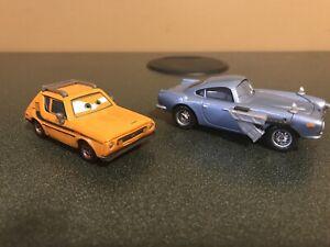 Disney Pixar Cars Diecast Finn McMissile With Weapon & Grem