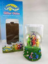 Vintage Musical Teletubbies Glitter Globe Original Box 1998 Bloomingdales