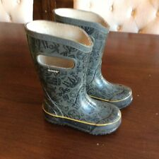 Bogs Little Boys Rain boots Pirate Size 9