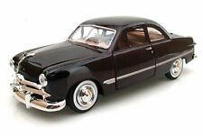 1949 Ford Coupe, Burgundy - Showcasts 73213 - 1/24 Scale Diecast Model Car