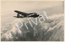 Foto WK II Flugzeug HE 111 im Flug  H1.26