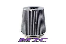 """MRC TFI Racing Multi Fit white/chrome Pod Air Filter 3"""" 3.5"""" 4"""" Turbo"""