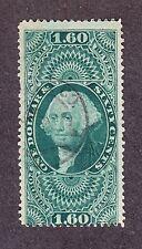 US R79c $1.60 Foreign Exchange Used w/ Black Handstamp Cancel SCV $180