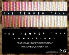 The Temper Trap Ltd Ed Discontinued Rare Sticker +Free Alt Rock Indie Stickers!