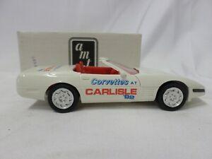 AMT Ertl America Corvette Convertible 1:25 White 8923 Collectors Car Plastic New