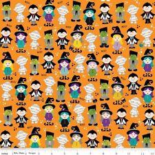 Riley Blake Halloween Magic by Bella Blvd C4611 Orange Halloween Cotton Fab BTY