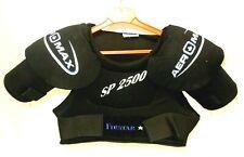 New Firstar Aer Max Black Sp2500 Ice Hockey Shoulder Pads - Size: Adult Medium