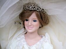 Princess Diana Porcelain Bride Doll Danbury Mint