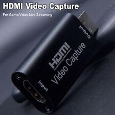 HD1080P USB2.0 HDMI Video Capture Card Live Streaming Grabber Coventer Reader uk