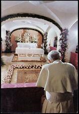 """santino-holy card""""S.GIOVANNI PAOLO II PAPA 23"""