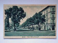 GORIZIA Casa dell'Auto negozio Autoricambi Corso VIttorio vecchia cartolina