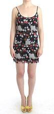 NWT $500 C'N'C COSTUME NATIONAL Floral Silk Mini Dress Sheath Short IT40/US4/XS