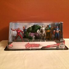 Disney Store Exclusive Marvel Avengers 6 Figurine Playset NEW