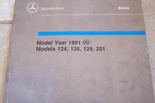 Mercedes 300e 500sl 300ce Owners Service Manual Parts w124 w129 used original