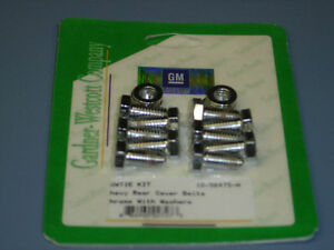 GM REAR END COVER BOLTS 10 BOLT