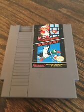 Super Mario Bros. / Duck Hunt Original Nintendo NES Cart NE4