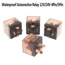 Waterproof Automotive Relay 12/24V 80A 4/5Pin SPDT Car Control Device Car Rel_gu