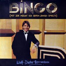 """7"""" Wolf-Dieter Herrmann Bingo sat.1 Mike Roland Ralph Siegel Jupiter NEUF!"""