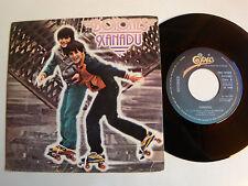 """BOTONES: Xanadu / Eso esta bien 7"""" Spanish EPIC EPC 9385 Juan Pardo - Jeff Lynne"""