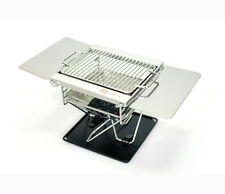 Foldable Mini Grill Brazier Fire Pit Stainless 304 Camping Charcoal BBQ Outdoor