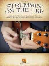 Strummin' on the Uke Sheet Music Melody Lyrics Chords Ukulele Book NEW 000127893