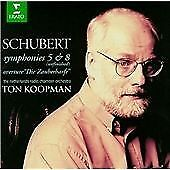 Koopman : Schubert;Syms.5 & 8/Die Zau CD