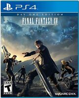 Final Fantasy XV(15) Day One Edition (PlayStation 4)  BRAND NEW
