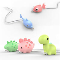 Cute Silicone Animal Cable Protector for iPhone Samsung Android Cell Phone Cord