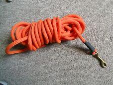 dog long 9m  rope lead- hunting training