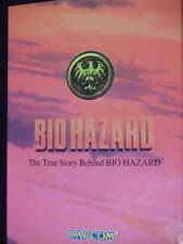 True Story Behind Bio Hazard novel book resident evil art Capcom guide