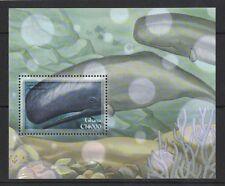 2001 Ghana Whales Sg 00004000  Ms 3231ab Muh