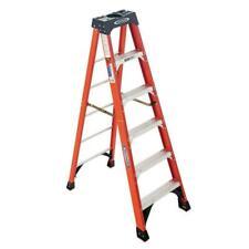 Werner Step Ladder 10 Ft 300 Lb Capacity Weather Resistant Aluminum Rung