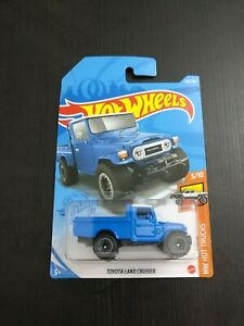 Hot wheels Toyota Land Cruiser Blue 2021 New Release LONG CARD/Sealed/Unopened