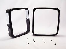 Anti-theft Side Mirror Guard for Jeep Wrangler 2007-2017 mirror Glass protectors