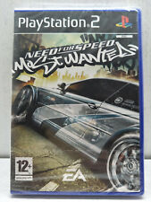 *New & Factory Sealed* PS2 Game NEED FOR SPEED MOST WANTED PAL PlayStation 2