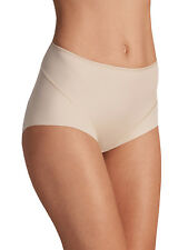 M & S size 20 NO VPL Light Control Full Briefs Knickers Panties Natural