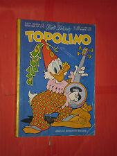 WALT DISNEY- TOPOLINO libretto- n° 1032 b - originale mondadori -anni 60/70